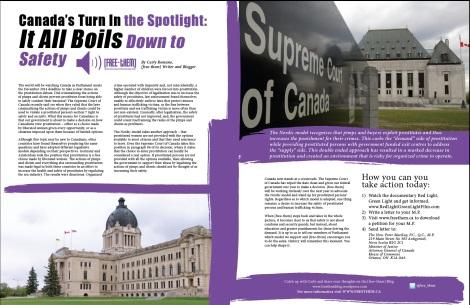Supreme Court of Canada Invidiata Collection Magazine Safety free-them