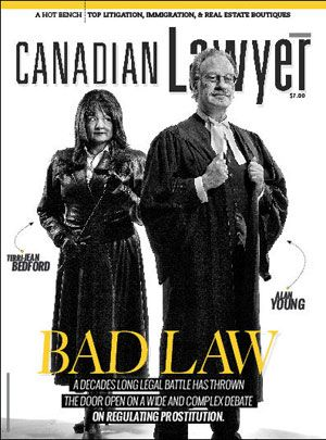 Bedford Prostitution Alan Young Canadian Law