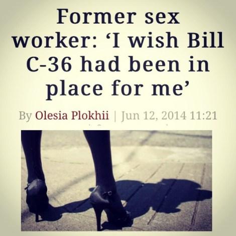 Bill C-36 Prostitute